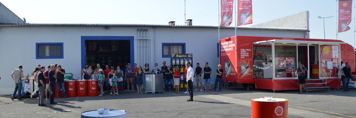Roadshow Shell Helix pour Lubexcel à Avignon !