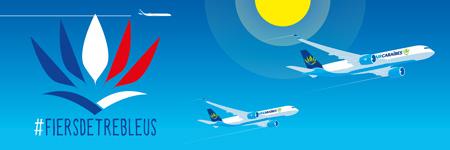 Air Caraïbes et ses équipages sont #fiersdetrebleus
